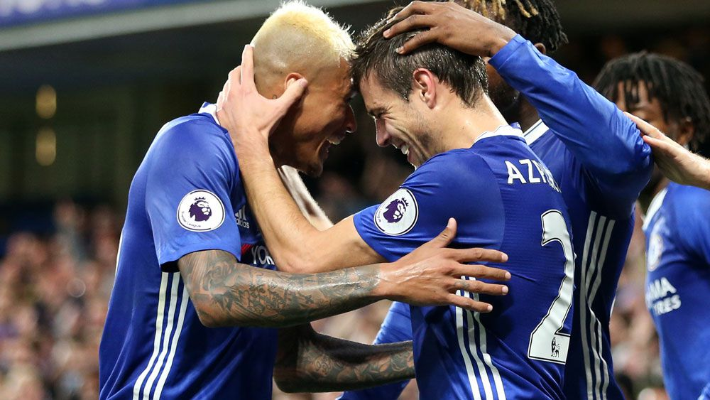 Chelsea celebrate EPL title with goal-scoring blitz over Watford
