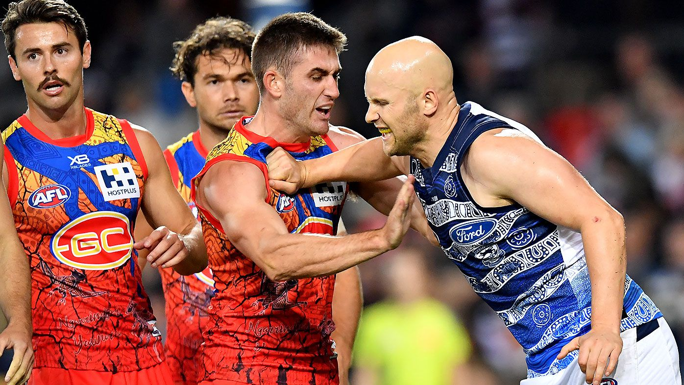 Gary Ablett set to face MRO scrutiny over head-high punch in Geelong win over Gold Coast Suns