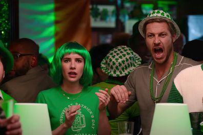 Emma Roberts, Luke Bracey, Netflix rom-com, movie, Holidate