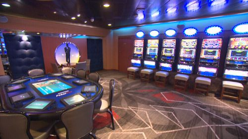 The ship features a range of luxury suites. (9NEWS)