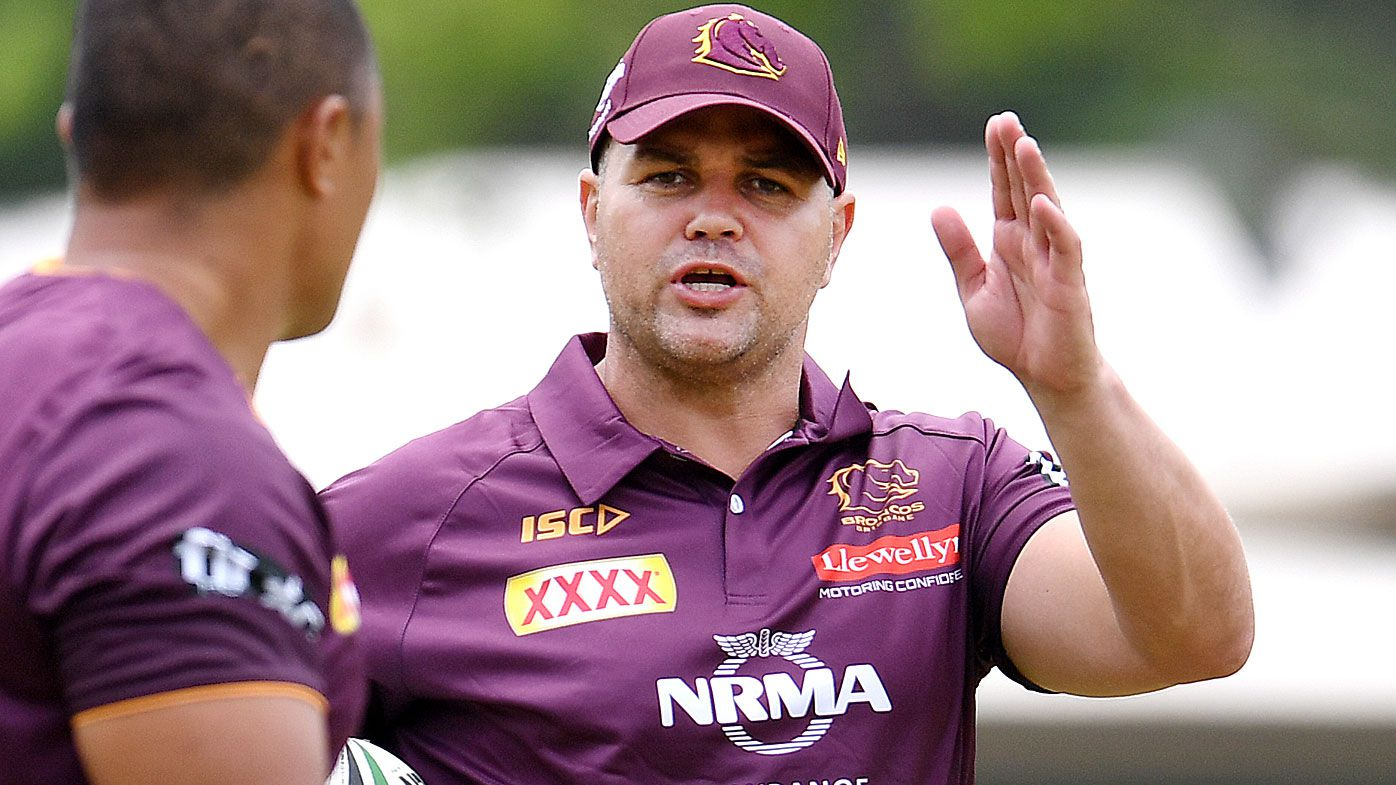 New Broncos coach Anthony Seibold answers speculation he plans to recruit Damien Cook from Rabbitohs
