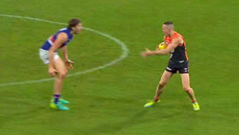 Umps may have missed crucial AFL penalty