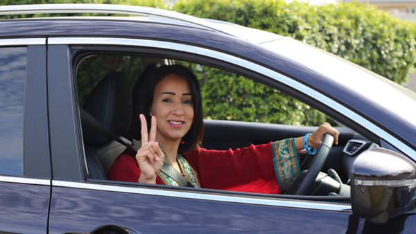 Manal al sharif driving photo