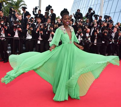 Lupita Nyong'o at theCannes Film Festival on May 13, 2015