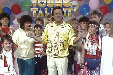 The host of <i>Young Talent Time</i>, Johnny was a regular on every Aussie TV screen in the 70s and 80s, launching the careers of young stars like Tina Arena and Dannii Minogue.