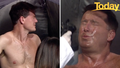 Karl Stefanovic, Alex Cullen strip down for spray tan on live tv