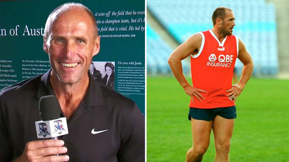 Tony Lockett speaks out about weight loss, media absence