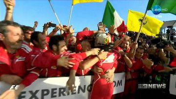 Sebastian Vettel wins the Australian Grand Prix