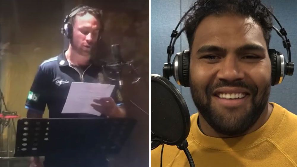 James Maloney and Sam Thaiday rap battle before State Of Origin opener