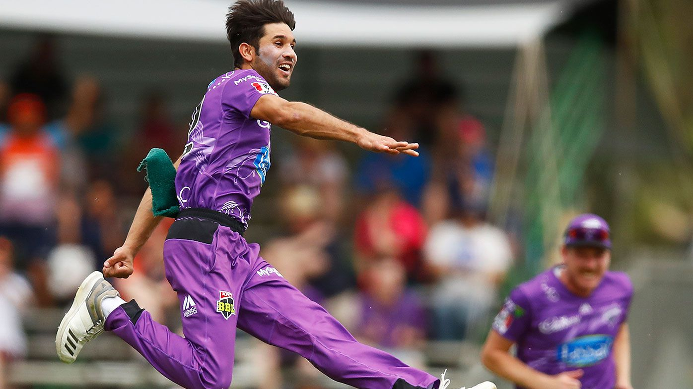 Ahmad spins Hobart Hurricanes to shock BBL win