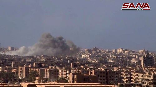 Islamic State lost it territory in Deir el-Zour. (AAP)