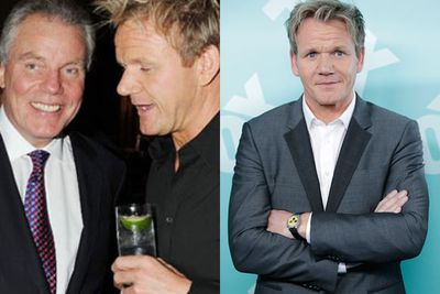 """Would you expect a Ramsay family feud to be anything less than fiery?! Hot-tempered chef Gordon Ramsay fired his business mentor, and father-in-law, Chris Hutcheson after the pair opened up their first restaurant in 1998. <br/><br/>Since then, the power pair have been at war, with the <i>Hells Kitchen</I> star calling Hutcheson a """"dictator"""" in a letter to his mother-in-law. We're guessing they don't exchange gifts at Christmas... <br/>"""