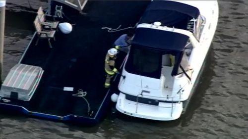 Child among three burned in Brisbane River boat blast