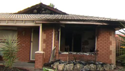 Mother recovering after saving two dogs from house fire