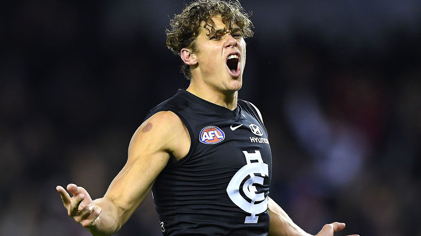 Carlton star Charlie Curnow set for knee surgery after fresh injury setback