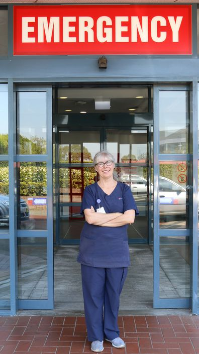 Merrilyn Lambert has worked as a hospital emergency room nurse for 15 years.