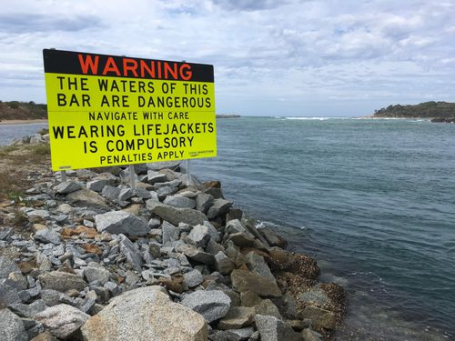 It is unclear whether the occupants of the boat were wearing life jackets at the time of the incident. Picture: Supplied.