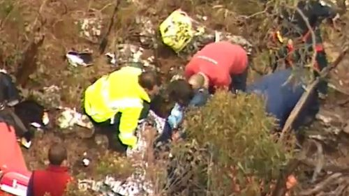 A man has been found at Lerderderg State Park Gorge claiming to have been lost for three days. (9NEWS)