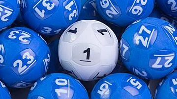 Powerball lottery balls (The Lott)