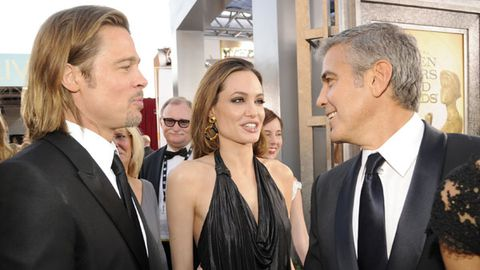George Clooney, Brad Pitt, Angelina Jolie