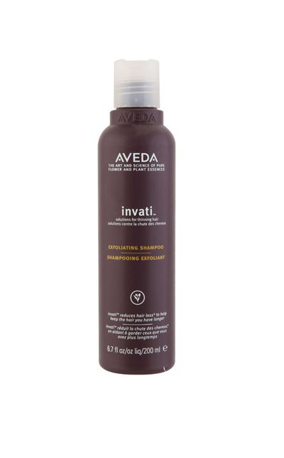 "<strong>For a scalp facial:</strong><br /><br /><a href=""http://www.aveda.com.au/product/8419/21056/Collections/InvatiTM/invati-exfoliating-shampoo/index.tmpl"" target=""_blank"">invati™ exfoliating shampoo, $49.95, Aveda</a>"