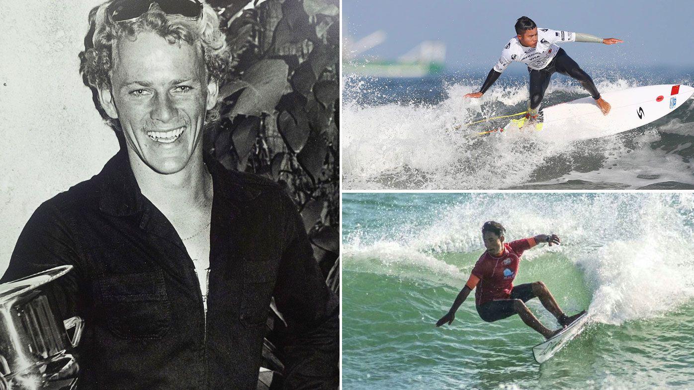 Aussie surf legend pushes Chinese team towards Tokyo in 'last run'