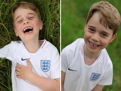 Prince George birthday photos on Instagram
