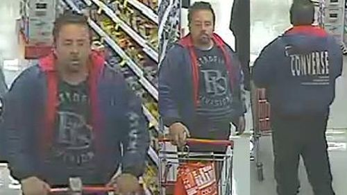 Police search for man with a sweet tooth and light fingers