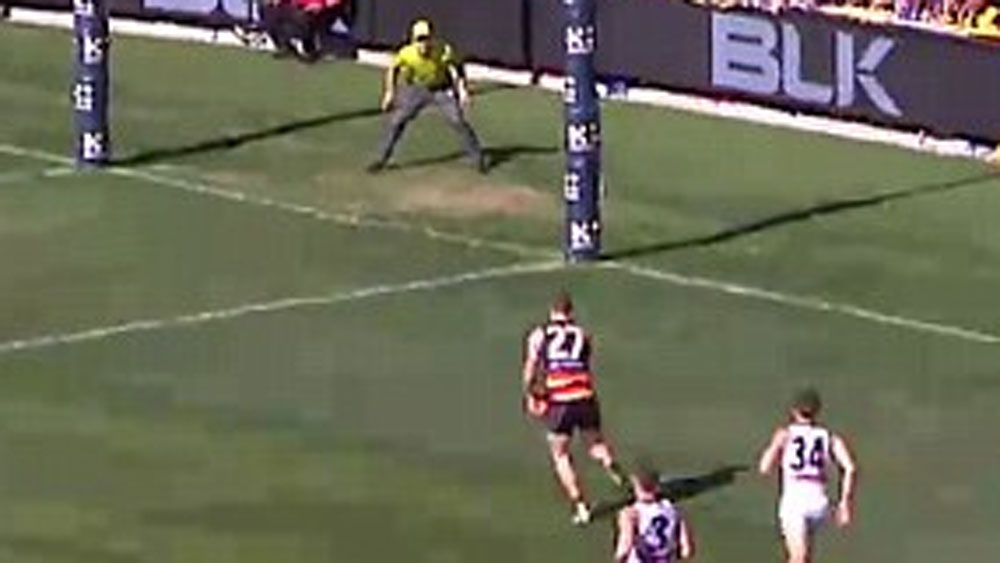 Is this the worst ever AFL goal miss?