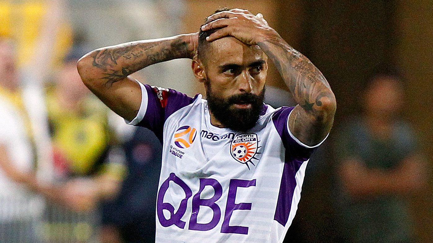 Perth Glory defend Diego Castro's penalty shocker against Wellington Phoenix