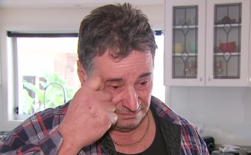 Mr DeGuara, 63, is still coming to terms with the terrifying ordeal. (9NEWS)
