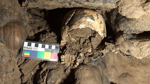 How woman's decapitated skull ended up deep in Italian cave
