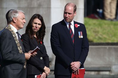 Prince William Anzac Day New Zealand