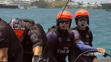 VIDEO: Victorian hopeful in New Zealand's pursuit of the America's Cup