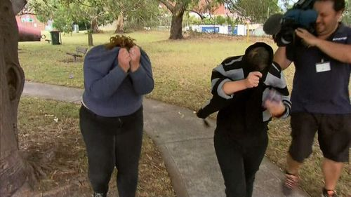 Two women have been charged over the alleged poisoning of their son.