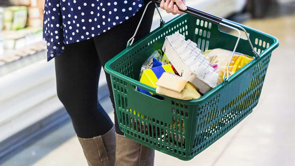 Three-step grocery basket overhaul