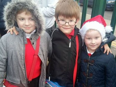 Many of William's (centre) friends have expressed their condolences via a GoFundMe page.