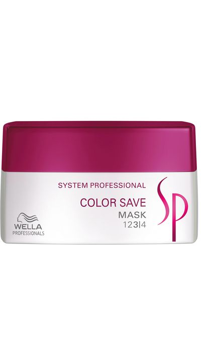 "<p><a href=""http://www.adorebeauty.com.au/wella-sp-colour-save-mask.html"" target=""_blank"">System Professional Color Save Mask, $36, Wella Professional&nbsp;</a></p>"