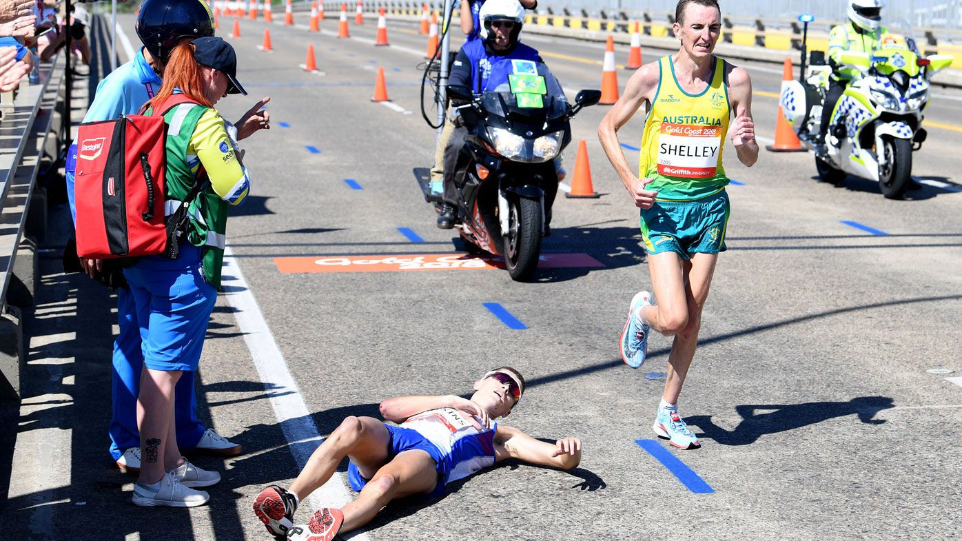 Commonwealth Games officials slammed for treatment of distressed runner