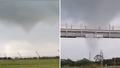 Tornado damages Brisbane Airport as severe weather events continue across state