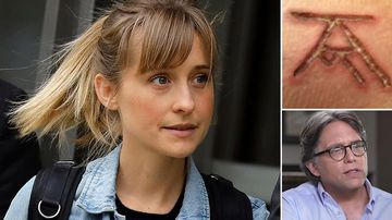 Actress Allison Mack is accused of helping to run an alleged sex cult, Nxivm.