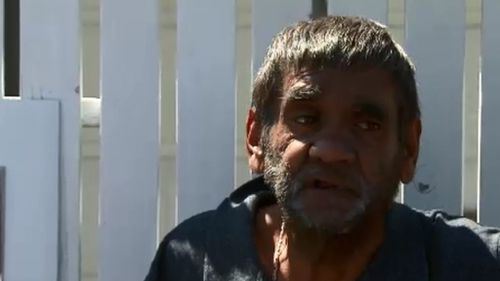 Resident Frank Hayes spoke of his anger towards the government. (9NEWS)