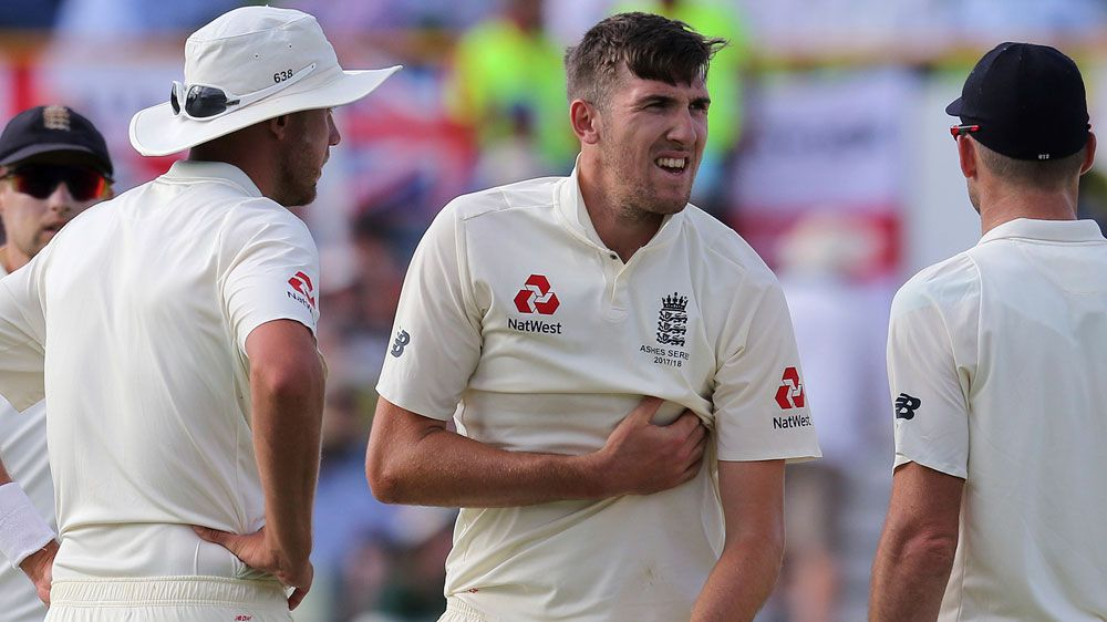 Ashes 2017: England paceman Craig Overton under injury cloud