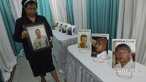 Andew Chan and Myuran Sukumaran were executed by firing squad last week. (9NEWS)