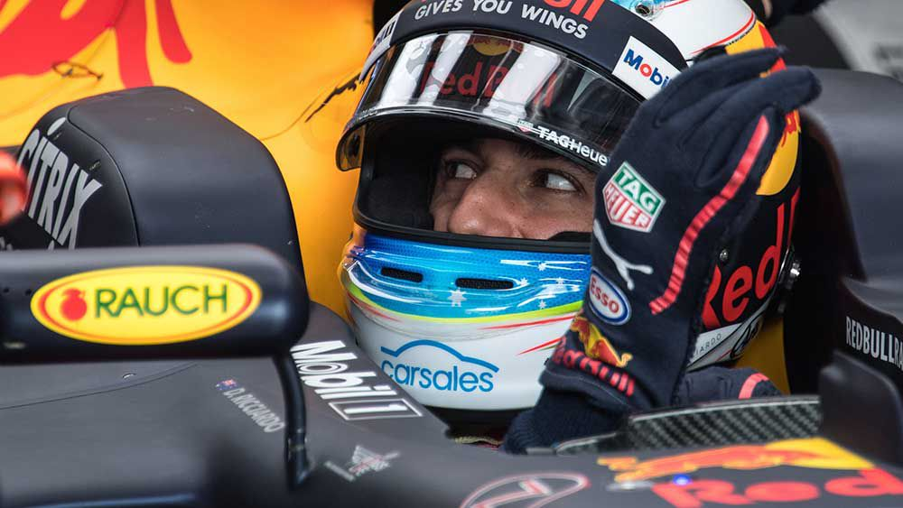 Ricciardo sixth after F1 practice drama