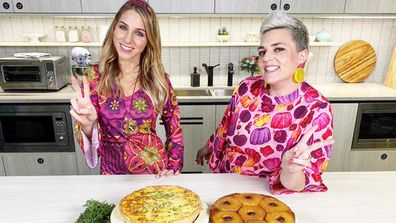 Britt Cohen and Jane de Graaff cook up retro 70's dinner party food