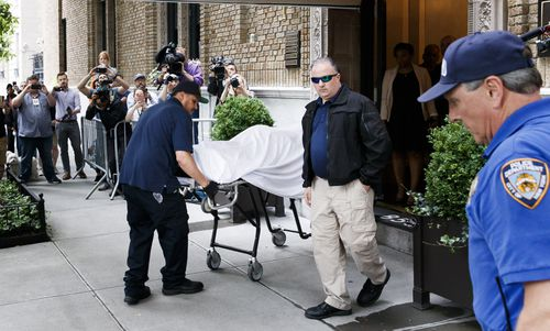 New York City Police Department confirmed Spade's death. Picture: AAP