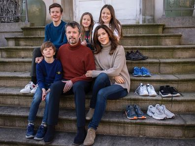 Princess Mary and her family share photo from isolation as they postpone Royal Run 2020