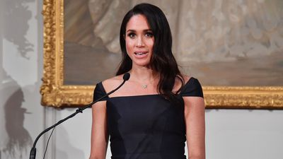 Meghan speaks to the importance of women's suffrage, 2018