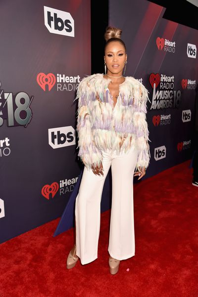 Eveat the 2018 iHeart Radio Music Awards in Los Angeles